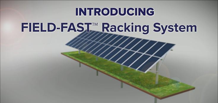 Field-Fast Fixed Tilt Solar Mounting Racks - Omco Solar