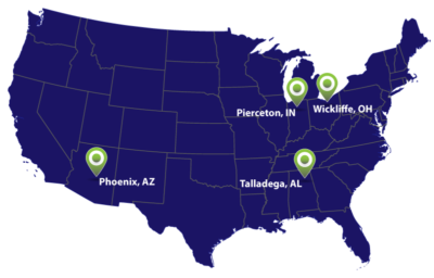 OMCO Holdings facility map
