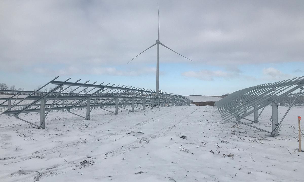 faith technologies solar installation