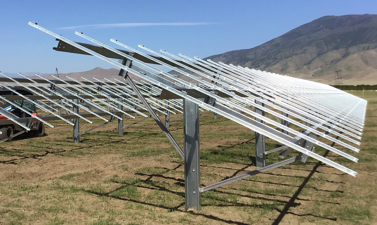 FIELD-FAST™ Solar Mounting System