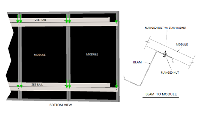 direct mount solar mounting system