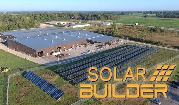 Solar Builder magazine feature image