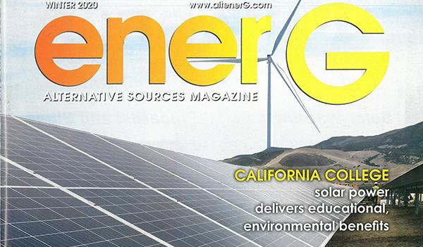 EnerG magazine cover