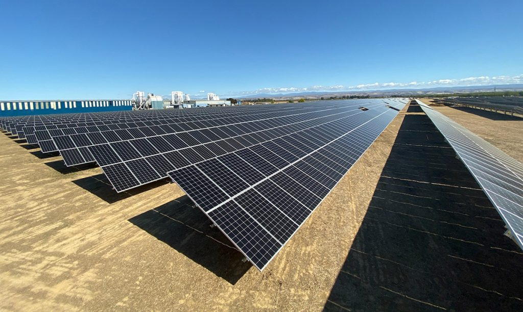 Coldwell Solar mounting installation