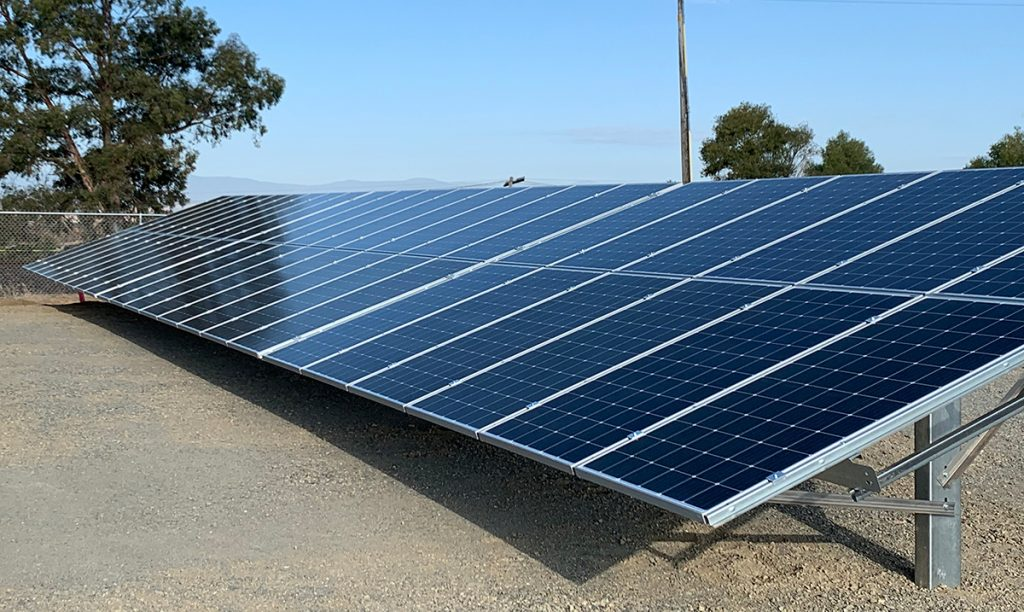 Faster install with Field-Fast Solar Racking