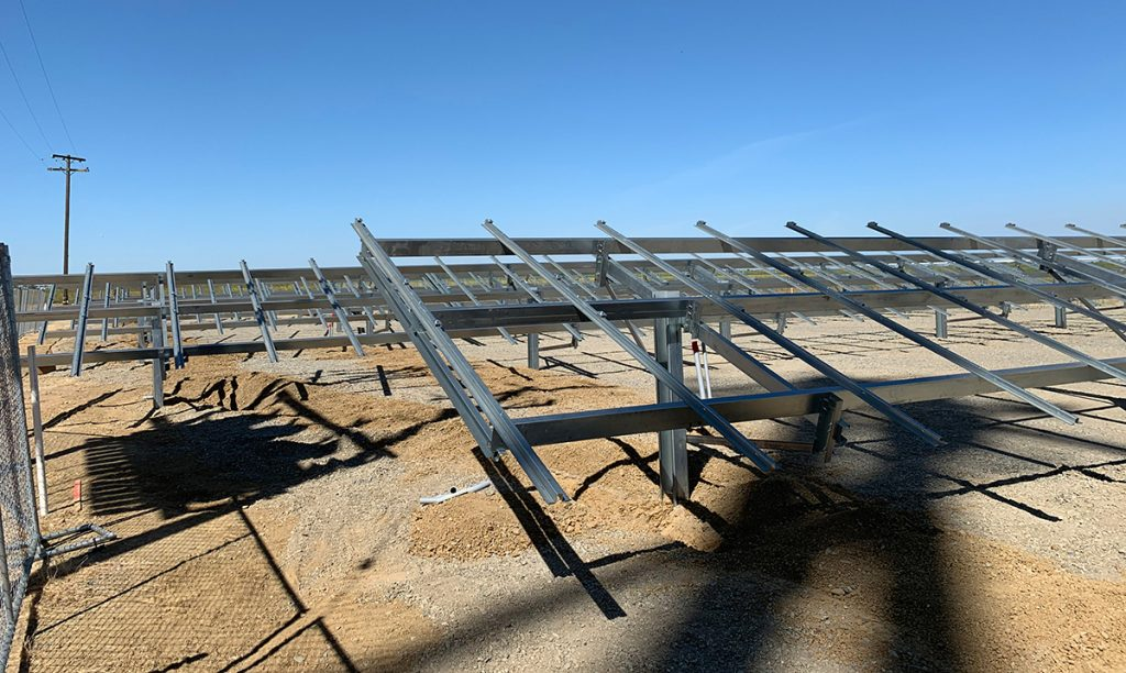 Field-Fast Solar Racking system