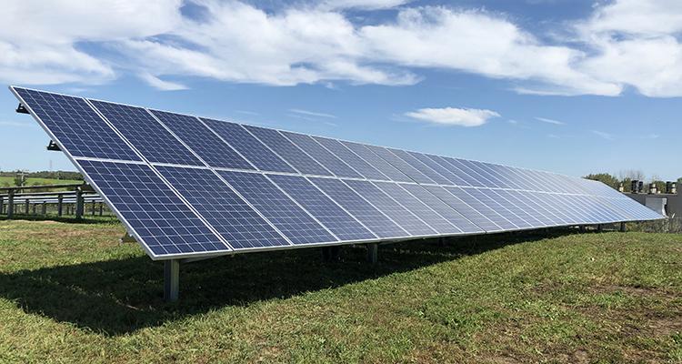 Pierceton Choice Solar installation