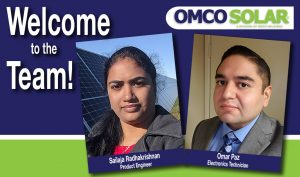 welcome engineers to OMCO Solar team